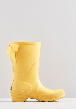 Good To The Last Raindrop Rain Boot In Rubber Duck Yellow Boots Yellow Rain Boots Rain Boots
