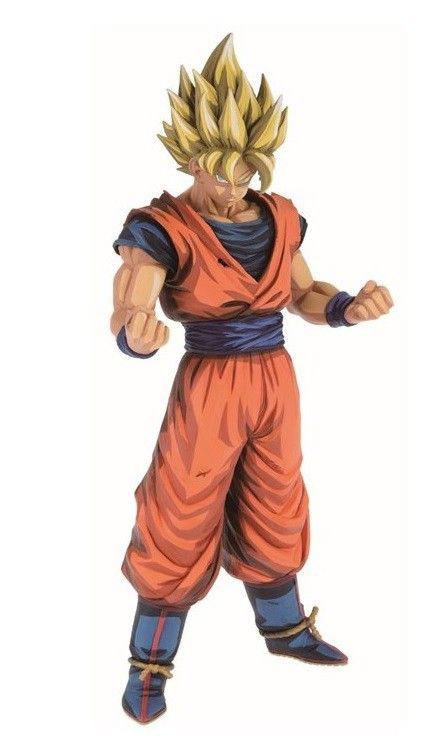 Banpresto Grandista Dragon Ball GT Super Saiyan 4 Goku Manga Dimensions Statue