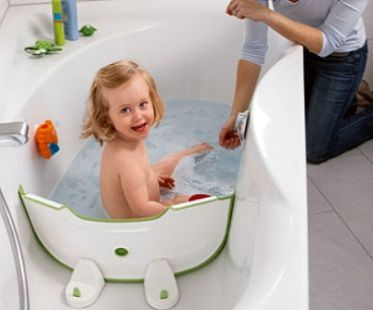 Bathwater Barrier Cool Baby Stuff Baby Gadgets Baby Bath