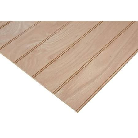 Scored Plywood 4 X 8 Texture Is Key Plywood Projects Project Panels Red Oak