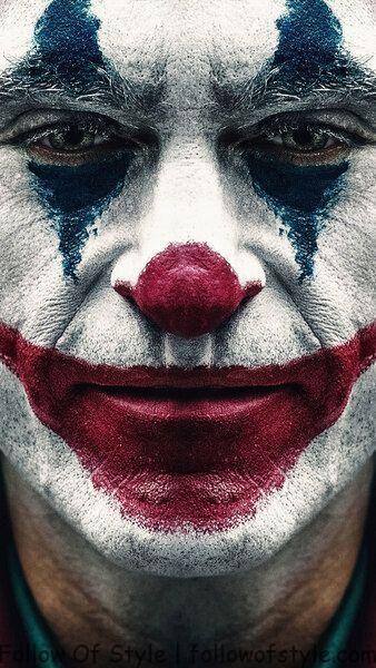 Joker 2019 Joaquin Phoenix Clown Makeup 8k Hd Mobile Smartphone