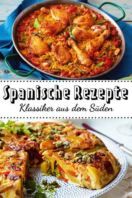 Spanische Rezepte - Klassiker aus dem Süden | Spanische ...