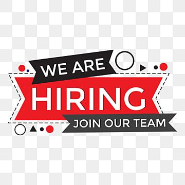 We Are Hiring Png Background Design Template We Are Hiring Png Images We Are Hiring Vector Were Hiring Png Png And Vector With Transparent Background For Fre In 2021 We Are