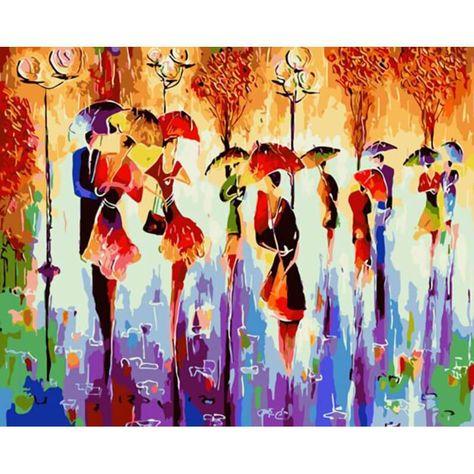Diy Acryl Malerei Bild Kunst Malen nach Zahlen