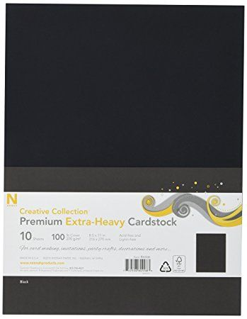 Neenah Paper Heavyweight Cover Cardstock 10 Pack 8 5 By 11