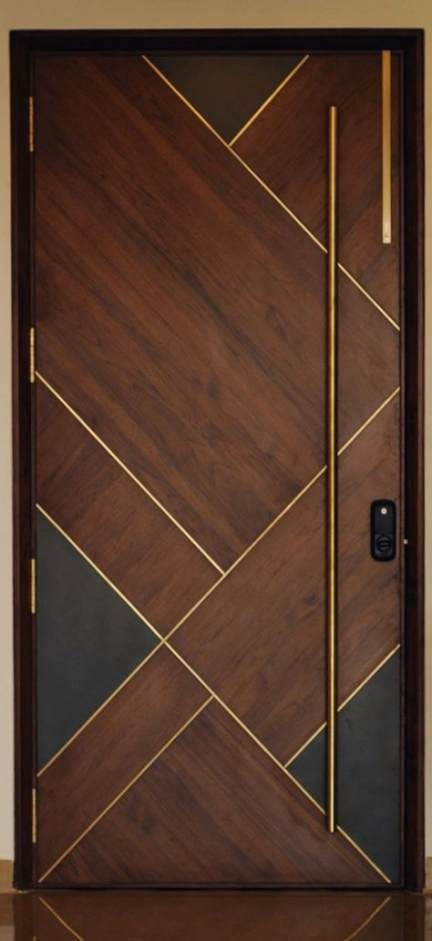47 Ideas For Wooden Entrance Door Architecture Door Wooden Door Entrance Doors Interior Modern