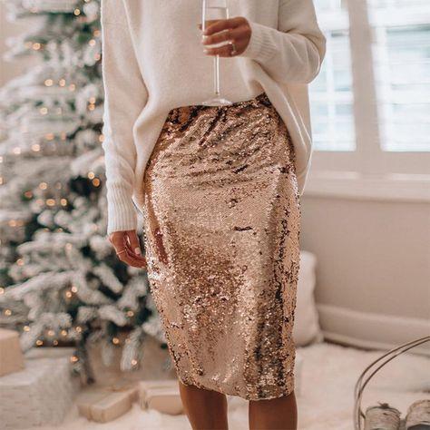 Trend Fashion, Estilo Fashion, Ideias Fashion, Womens Fashion, Blouse En Satin, Tutu En Tulle, Bodycon Midi Skirt, Midi Skirts, Midi Dresses