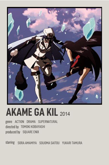 akame ga kil anime films anime