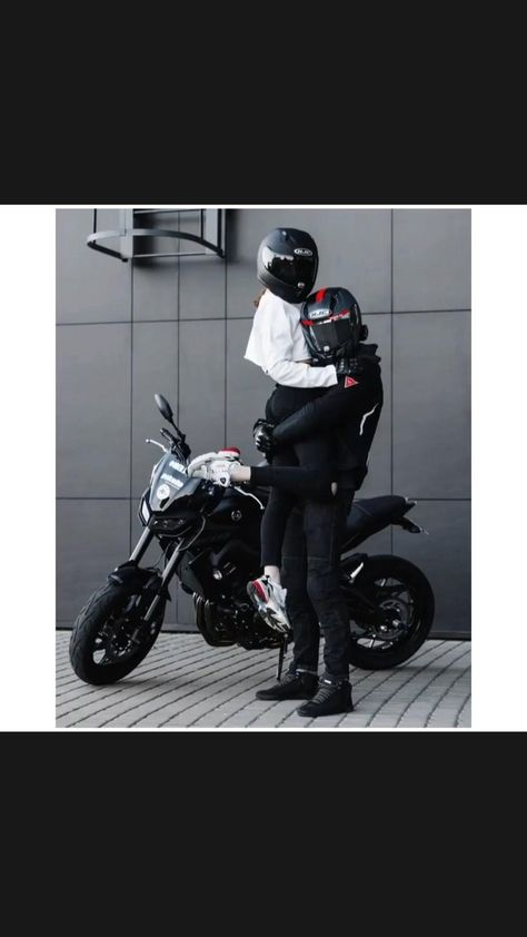 Motocross Couple, Motocross Love, Biker Couple, Motorcycle Couple, Girl Riding Motorcycle, Motorbike Girl, Biker Love, Biker Girl, Biker Photography