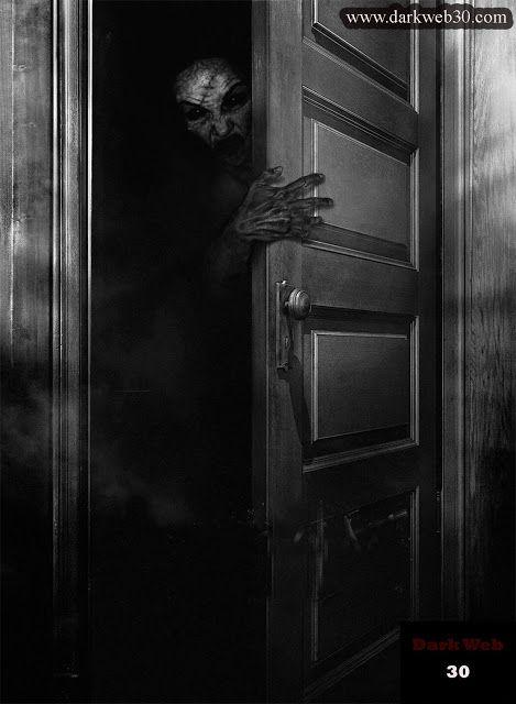 Midnight Game Door Handles Horror Decor