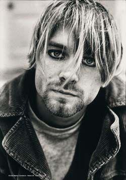 Kurt Cobain- Picture Fabric Poster
