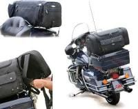 Motorcycle Luggage Rack Bag Fair Leather Backrest Bags  Motorcycle House  Harley Ideas  Pinterest 2018