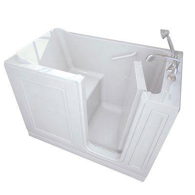 54 X 29 Freestanding Soaking Bathtub Whirlpool Tub Walk In