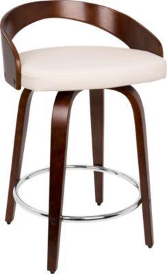 Strange Grotto Cherry Counter Height Stool Kitchen Modern Unemploymentrelief Wooden Chair Designs For Living Room Unemploymentrelieforg