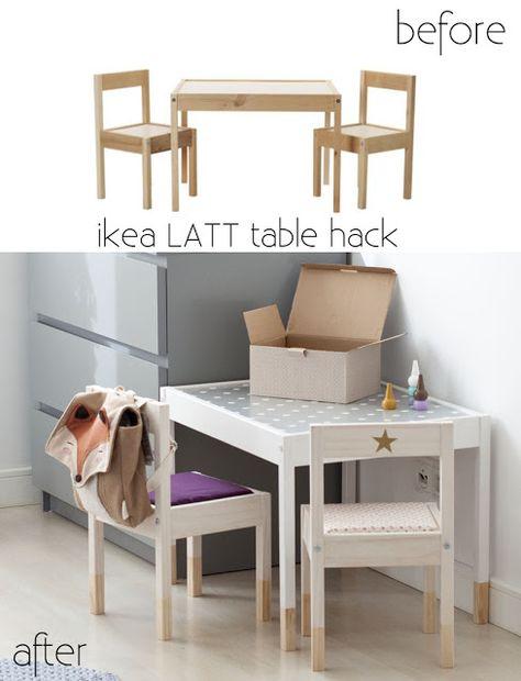 Anicja S White Space Ikea Latt Table Hack Czyli Lucja Testuje