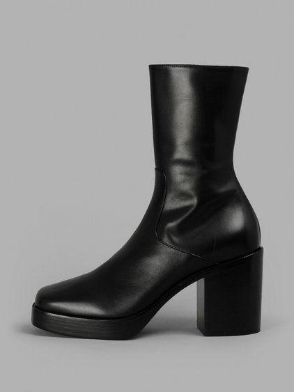 Balenciaga Men's Black Boots | ModeSens