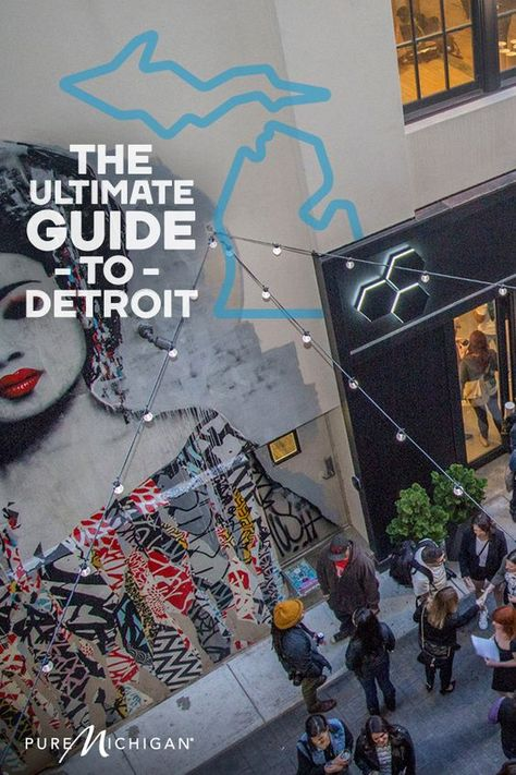 Where to go if you're a first-time visitor to Detroit.