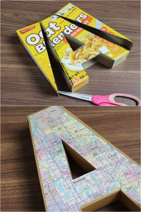15 Clever Uses For Cereal Boxes Once You Empty Them Out Cardboard Box Crafts, Cardboard Toys, Cardboard Playhouse, Cardboard Furniture, Diy Arts And Crafts, Diy Craft Projects, Diy Crafts, Cereal Box Craft For Kids, Cereal Box Crafts