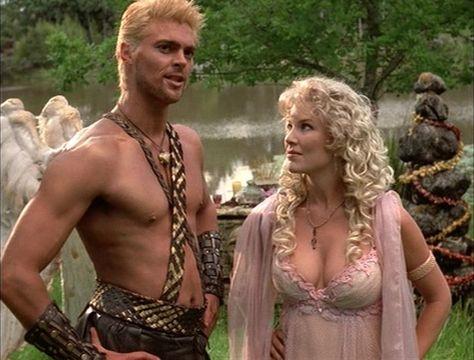 Karl Urban as Cupid. Hercules: The Legendary Journeys and Xena: Warrior Princess