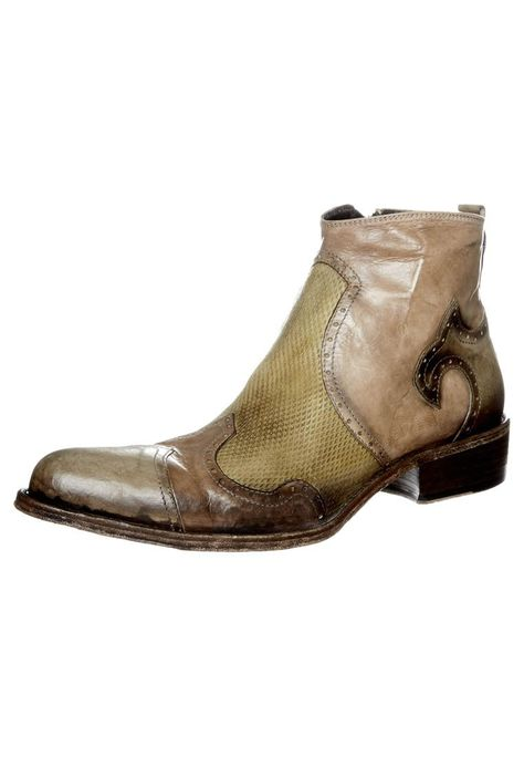 3322f2bb88e Jo Ghost - Cowboy Biker boots - brown