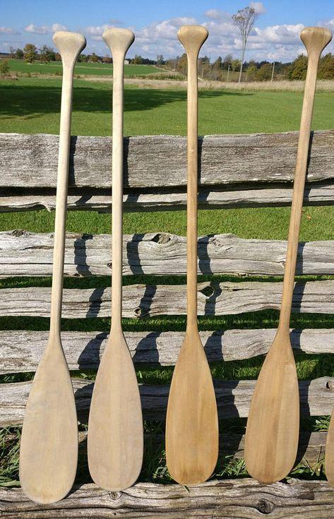 Vintage Canoe Paddle 48 Paddle Aged Paddle Weathered Oars Rustic Nautical Decor Rustic Oars Nautical Theme Decor Canoe Paddle