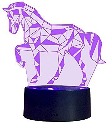 3d Illusion Nachtlampe S Suniness Led Pferd Licht Fur Kinder Kinder Dekoration Geburtstag Geschenk Amazon De In 2020 Geschenke Zum Geburtstag Nachtlampen Dekoration