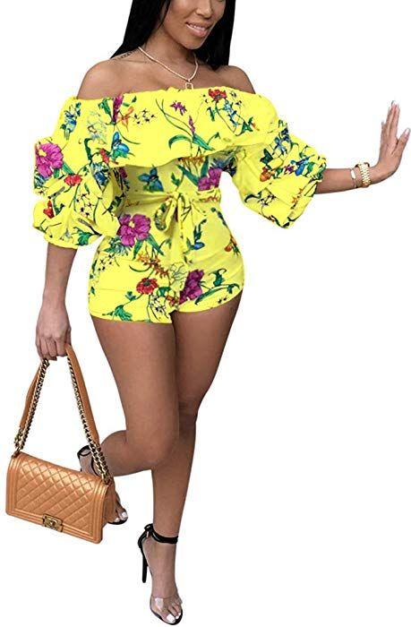 Woman Short Jumpsuit snakeskin Printed Long Sleeve Backless Short Romper S-XL