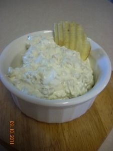 Pickle Dip...so addicting! Hmm. Sounds interesting enough to try