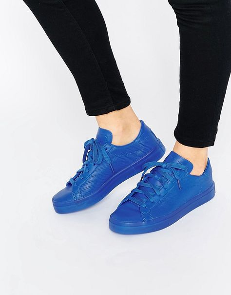 Buy adidas Originals Court Vantage Super Colour Blue Trainers at ASOS. With free delivery and return options (Ts&Cs apply), online shopping has never been so easy. Get the latest trends with ASOS now.