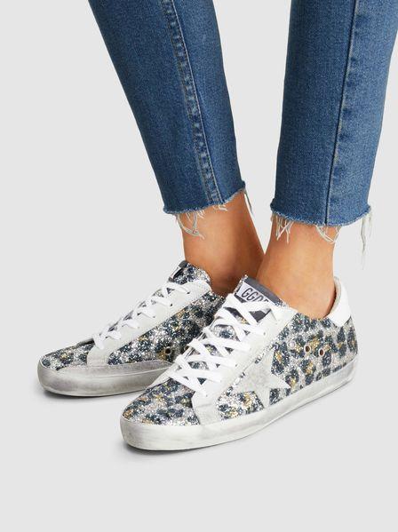 Superstar Leopard Glitter Low-Top