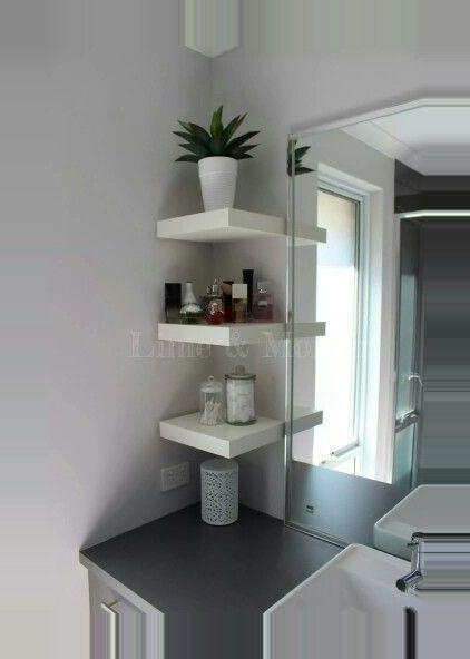 Aufbewahrungsideen Aufbewahrungslosungen Badezimmer Diy Projects For The Home Fur Kle In 2020 Ikea Lack Shelves Bathroom Storage Solutions Small Bathroom Storage