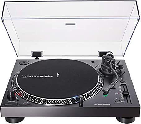 Amazon Com Audio Technica At Lp120xusb Direct Drive Turntable Analog Usb Black Hi Fidelity Plays 33 1 3 45 And 78 Plattenspieler Plattenteller Audio