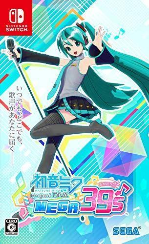 Hatsune Miku Project Diva Mega39 S Mega Mix Nintendo Switch Jp In 2021 Hatsune Miku Project Diva Hatsune Miku Project Diva
