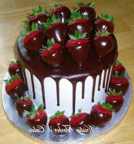 36 Super Ideas Cake Chocolate Decoration Strawberry Cake
