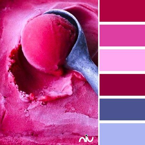 Magenta Ice Cream Color Palette
