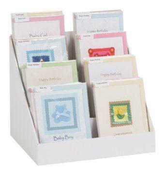 12 Cardboard Greeting Card Display Stand Amazon Co Uk