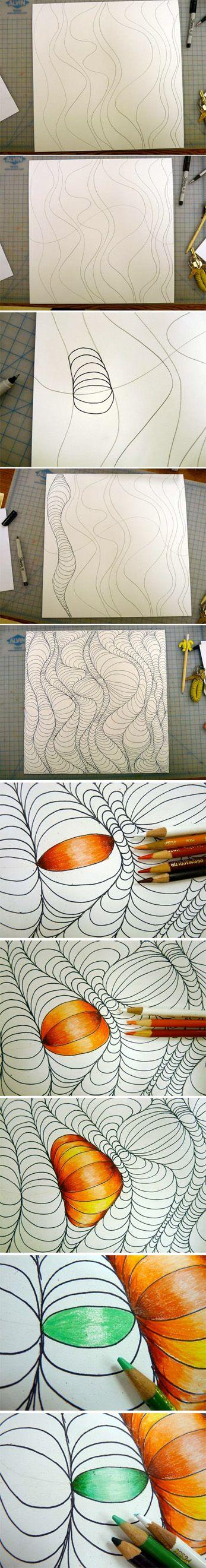 Diseños con ilusiones ópticas