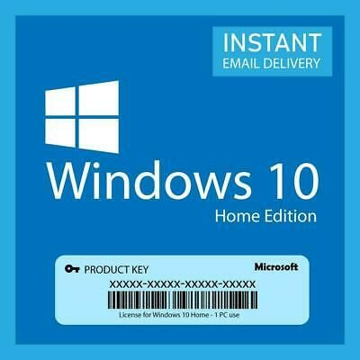 Ebay Link Ad Windows 10 Home 32 64 Original Activation Code License Key 7sec Devilry Instant In 2020 Microsoft Windows Windows 10 Microsoft