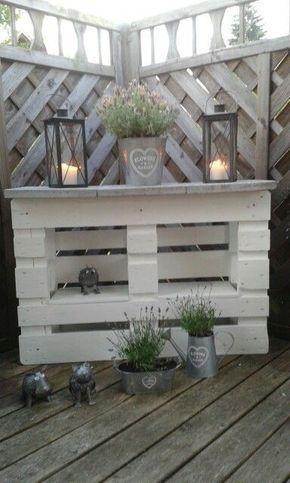 20 Ideen Fur Das Palettenrecycling In Ihrem Garten Absolut Zu Kopieren Melissa Bauen Europalette Pa Diy Garden Decor Fall Outdoor Decor Pallet Decor