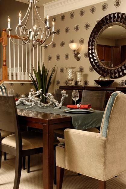 Mirror In Dining Room Feng Shui Beautiful Feng Shui Home Step 5 Dining Room Decorating Mirror Dining Room Dining Room Decor Room Feng Shui