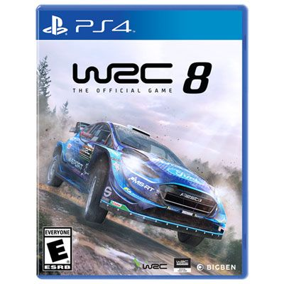 Wrc 8 The Official Game Ps4 Ps4 Games Newest Playstation