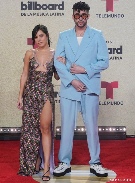 Bad Bunny and Gabriela Berlingeri Make Red Carpet Debut