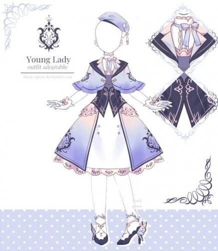 24 Ideas Drawing Woman Fantasy Anime Fashion Design Drawings Anime Dress Drawing Anime Clothes