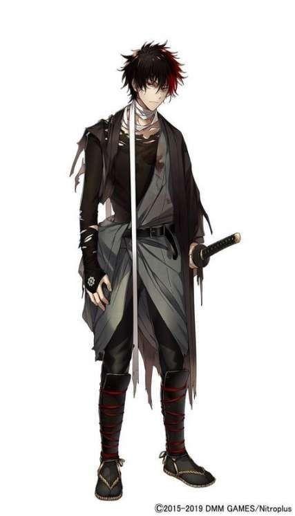 Male Anime Ninja : anime, ninja, 김재호, Teehee, Anime, Character, Design,, Characters, Male,, Samurai