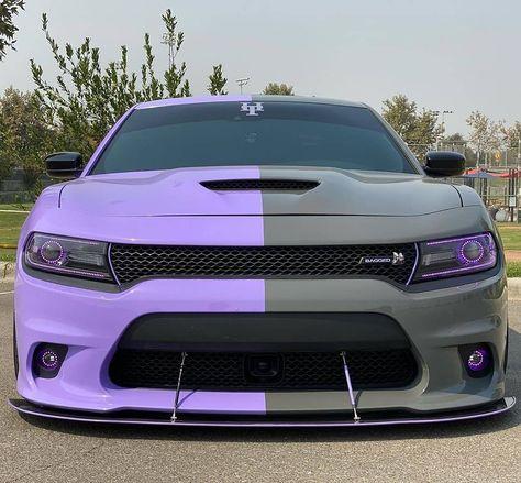 Dodge Charger Hellcat, Dodge Srt, Dodge Challenger, My Dream Car, Dream Cars, Holographic Car, Black Audi, Camaro Car, Dodge Durango