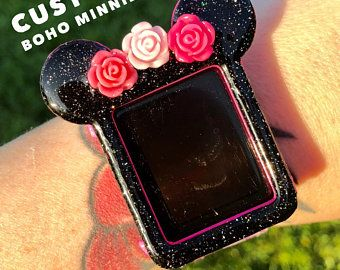 sports shoes 0232d c576a CUSTOM Boho Minnie Flower crown 3D printed Apple watch cover ...