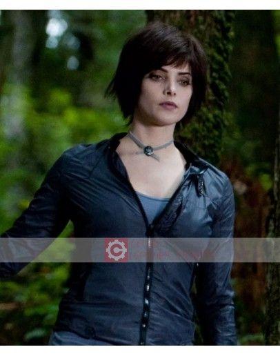 Twilight Eclipse Alice Cullen Ashley Greene Leather Jacket