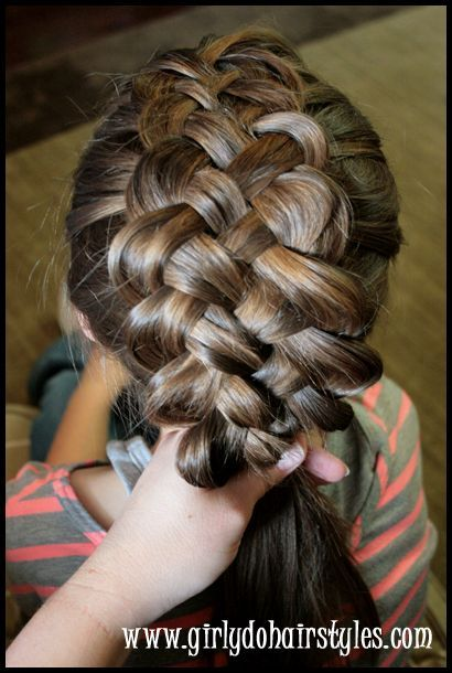Five Strand Puffy Braiding By Girly Do Hairstyles Skip To My Lou Download Mp3 From Youtube Video Instant Hair Styles Curly Hair Braids Braided Hairstyles
