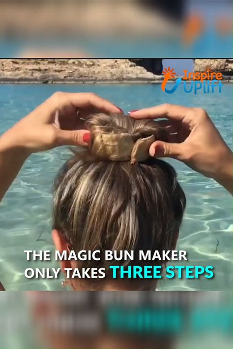 Magic Bun Maker 😍  Spare yourself just 1 minute for your hair and save the other 9 minutes for putting on your make-up!  Currently 50% OFF with FREE Shipping!