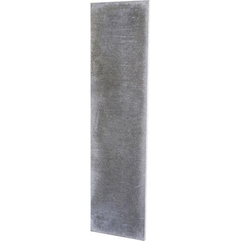 Plaque En Beton Pleine Pour Cloture Droite L 192 X H 50 Cm X Ep 37 Mm Plaque Beton Et Droit